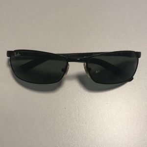 Ray Ban 3190 Men's Wear Black Metal Sunglasses